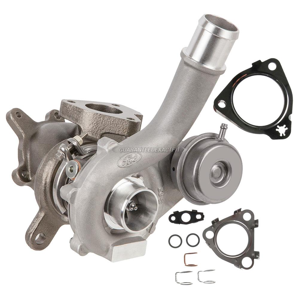 Garrett Twin Turbo Kit: 2010 Ford Flex Turbocharger And Installation Accessory Kit
