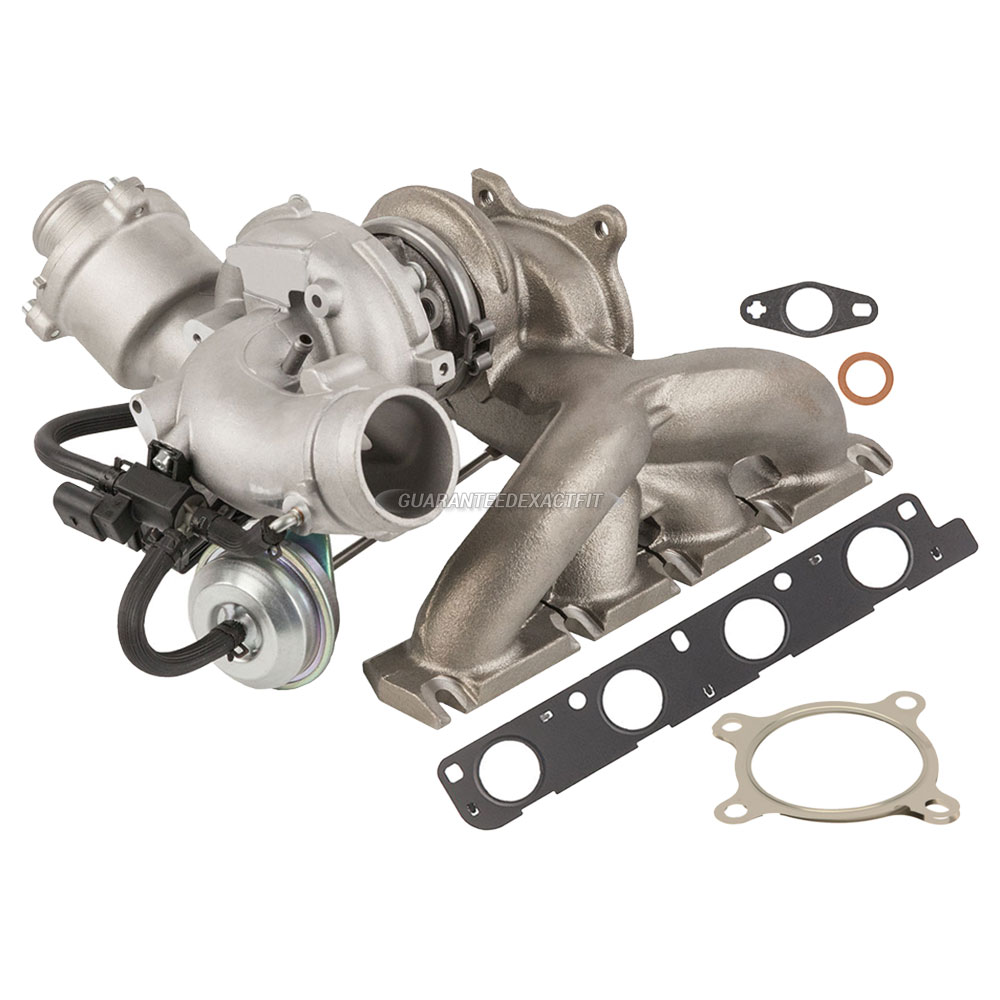2011 Audi A5 Turbocharger And Installation Accessory Kit